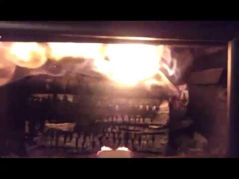 Nc13 Wood Stove Secondary Burn Youtube