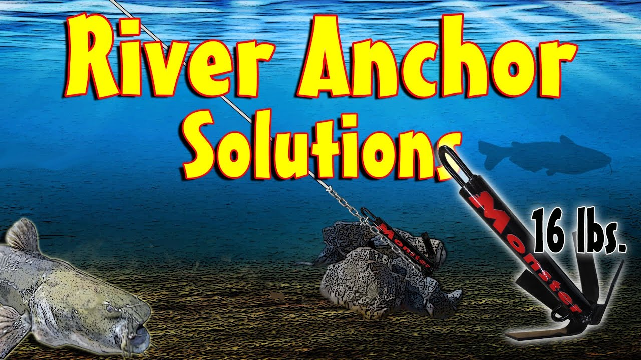 Boat Anchors For Sale >> River Anchors - Old School Anchoring Solutions - YouTube