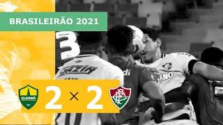 Cuiabá 2 x 2 Fluminense - Gols - 20/09 - Brasileirão 2021