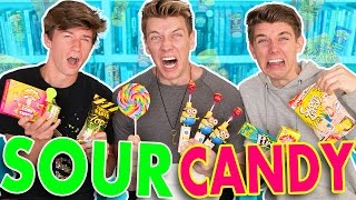 EXTREME SOUR CANDY Toxic Waste & Warhead Challenge | Collins Key