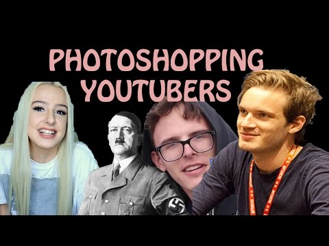 MAKING PEWDIEPIE HITLER!?