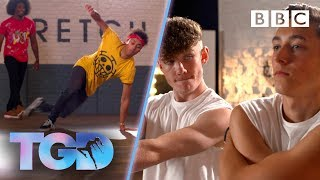 Dance double acts WOW the captains - The Greatest Dancer | Auditions