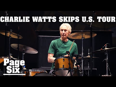 Rolling Stones drummer Charlie Watts, 80, skips US tour after surgery | Page Six Celebrity News