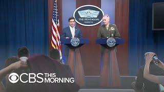 EEUU aumentará presencia militar en Arabia Saudita y los Emiratos Árabes Unidos