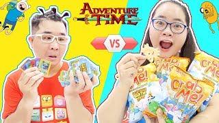 Thử Thách Đấu Thẻ Adventure Time Giờ Phiêu Lưu Cùng Snack Oishi Crab Me!