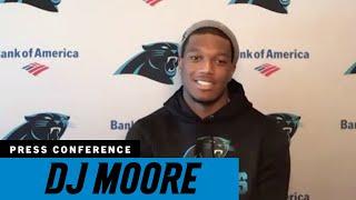 DJ Moore is embracing the challenge in third season
