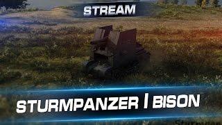 Sturmpanzer I bison. Стрим с Арти25