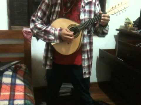 Tuatha de Danann-Behold The Horned King Bandolim cover