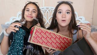 HUGE Summer/Fall Haul (BRANDY, Vans, Hollister & F21) With My BFF!! FionaFrills Vlogs