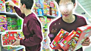 Nintendo Fanboy's REACTION to randomly finding Super Mario Cereal in stock