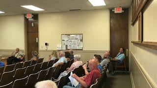 7-10-19 Special Meeting