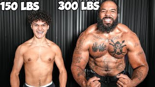 Who Can Lift the Most Weight Challenge w/ World's Strongest Man