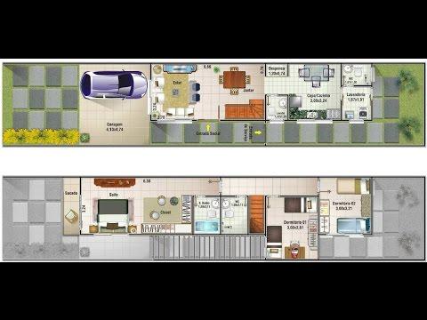 Planos de casas recomendados para terr de 13 x 7 mts for Casa moderna minimalista 6 00 m x 12 50 m 220 m2