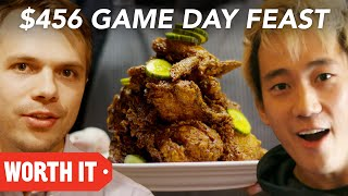 $10 Game Day Food Vs. $456 Game Day Food • Super Bowl 2018