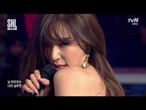 Tiffany (티파니)  - I Just Wanna Dance & Talk SNL Korea 052816 HD