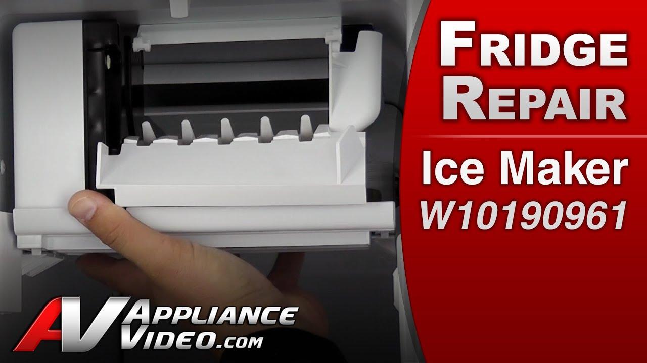 Refrigerator Diagnostic Amp Repair Ice Maker Whirlpool