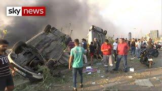 BREAKING: Huge explosion rocks Beirut