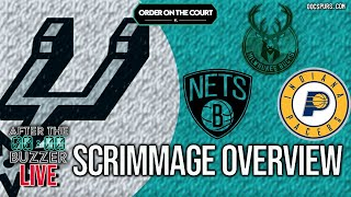 San Antonio Spurs Scrimmage Overview and Restart Predictions
