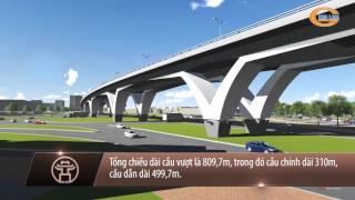 Phim phóng sự lễ thông xe kỹ thuật nút giao thông trung tâm Quận Long Biên - Hà Nội
