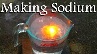 How To Make Sodium Metal