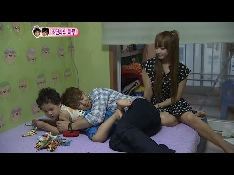 We got Married, Nichkhun♥Victoria takes care of baby, Jordan