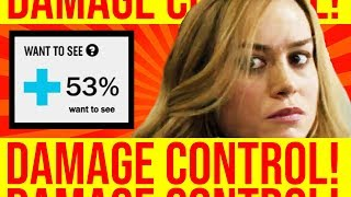 Brie Larson goes FULL DAMAGE CONTROL for CAPTAIN MARVEL.