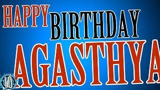 HAPPY BIRTHDAY AGASTHYA! 10 Hours Non Stop Music & Animation For Party Time #Birthday #Agasthya