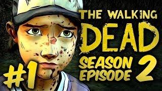 SHES BACK! - The Walking Dead: Season 2 - Episode 2 - Part 1 - Gameplay / Walkthrough / Playthrough