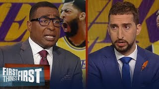 Do the Lakers need a third star to win a title? Cris and Nick discuss | NBA | FIRST THINGS FIRST