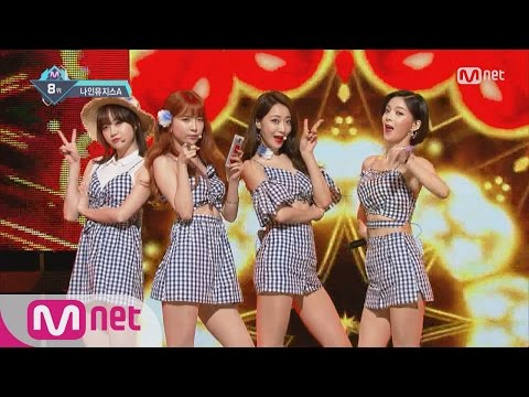 [9muses A - Lip 2 Lip] KPOP TV Show | M COUNTDOWN 160825 EP.490