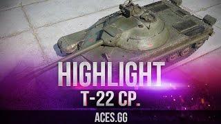 Видео по танку Т-22 ср - не имба
