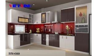 Bếp xinh, Tủ bếp xinh, Mẫu tủ bếp đẹp , mau tu bep , mẫu tủ bếp gỗ