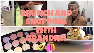 BRUNCH AND SHOPPING WITH GRANDMA