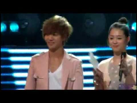 Adorable Yesung with Cute Sulli f(x)