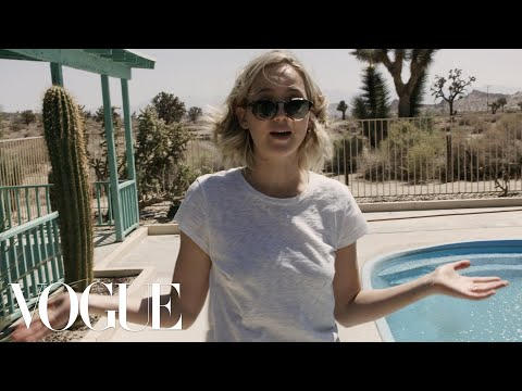 Jennifer Lawrence's Awkward Interview | Vogue