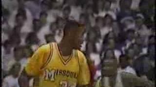 #2 Mizzou Beats #1 Kansas in Lawrence - 1990