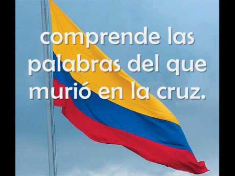 Himno Nacional de Colombia cantado