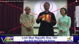 LM Nguyễn Duy Tân sang Úc xuyên tạc về Quốc kỳ VN và cổ suý cờ 3 sọc
