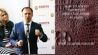 Why learning Russian is not a sport