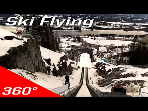 Vikersund Ski-Flying 360° Experience