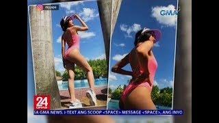 """24 Oras: Julie Anne San Jose, sizzling hot sa taping ng summer special ng """"Studio 7"""""""