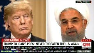 """NEVER EVER THREATEN THE U.S. AGAIN!"" President Trump Threatens Iran ""IN ALL CAPS"""