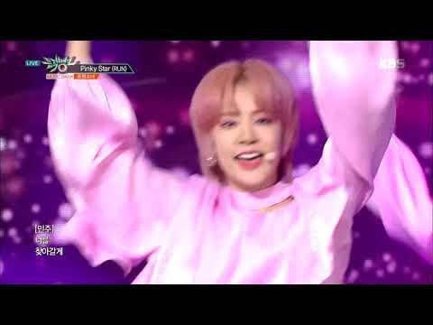 Pinky Star(RUN)(핑키스타) - 공원소녀(GWSN) [뮤직뱅크 Music Bank] 20190322