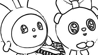 Drawing and Coloring Kikoriki Cartoon Images - Video For Kids and Toddlers - Kikoriki Video Draw