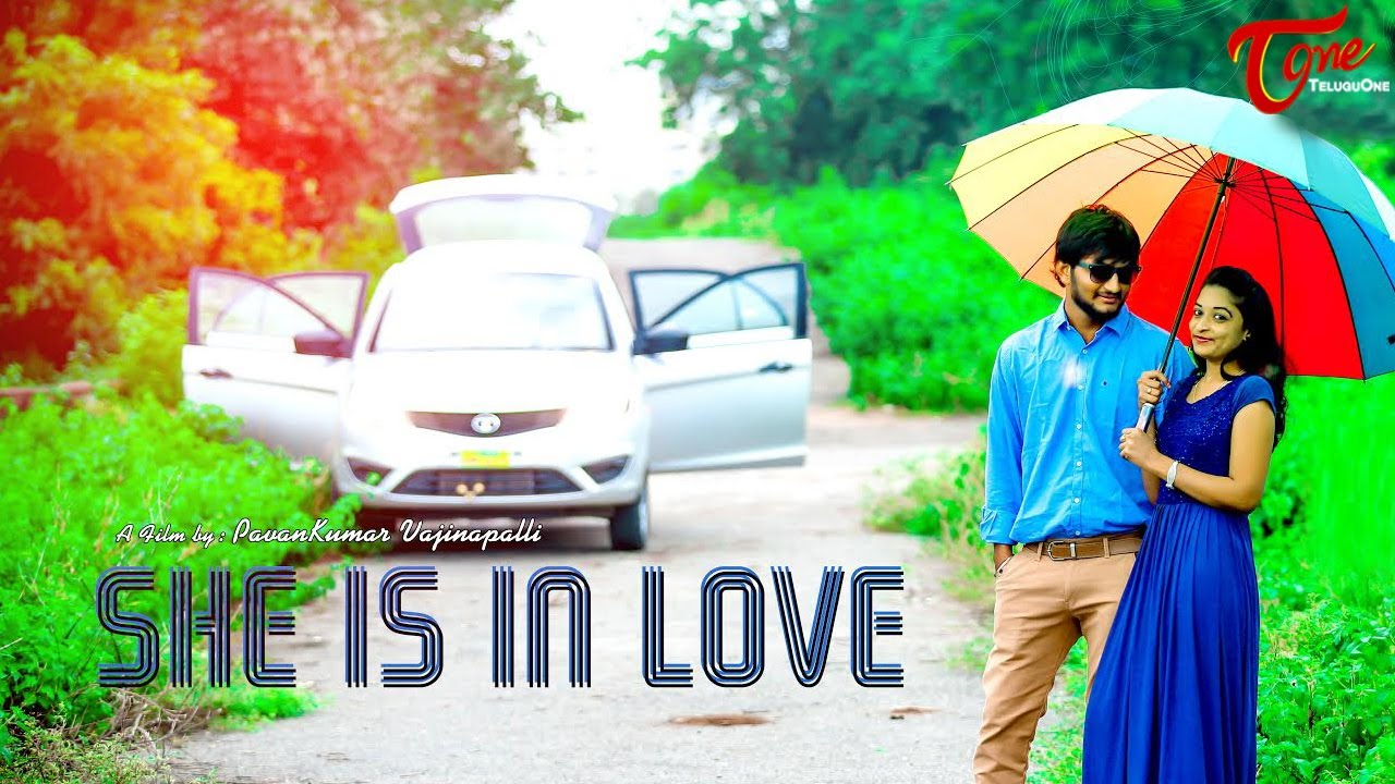 She Is In Love A Romantic Short Film || by Pavan Kumar Vajinepalli || #TeluguShortFilms