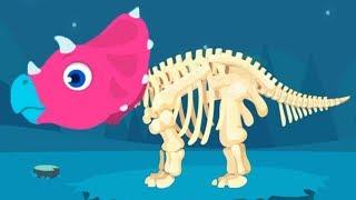 Play Fun Jurassic Dig Gameplay - Веселые игры динозавров для детей от Yateland