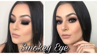 Easy Black Smokey Eye Makeup Tutorial 🖤🖤🖤