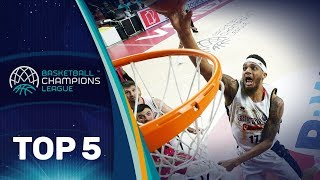 Top 5 Plays - Tuesday - Gameday 12 - Basketball Champions League 2018-19