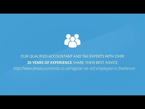 How to Register As a Self-Employed in the UK - DNS Accountants