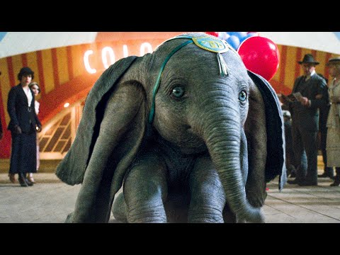Dumbo Flies For The First Time Scene - DUMBO (2019) Movie Clip